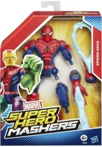 Marvel Avengers Age of Ultron Super Hero Mashers - Spider-man actiefiguur