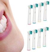 Opzetborstels passend op Oral-B - 16 stuks