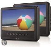 Akai ACVDS738T - Portable DVD-speler met LCD-displays  - 7 inch - Zwart