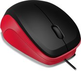Speedlink, LEDGY Wired Mouse (Zwart / Rood)
