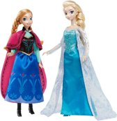Disney Princess Frozen Anna en Elsa cadeauset - Barbie pop