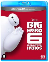 Big Hero 6 (3D-blu-ray)