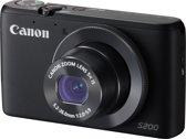 Canon PowerShot S200 - Zwart