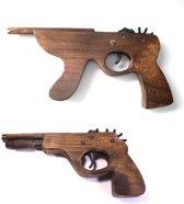 Elastiek Pistool + Shot Gun (2 stuks)