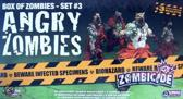 Zombicide Set 3 Angry Zombies - Bordspel