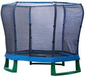 Plum Junior Jumper Trampoline - 220 cm - Inclusief Veiligheidsnet - Blauw