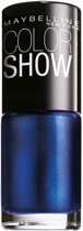 Maybelline Color Show - 661 Ocean Blue - Blauw - Nagellak
