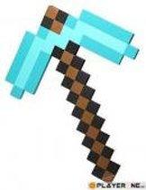 MineCraft Foam Diamond Pick Axe (278)/Toys