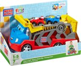 Mega Bloks First Builders Tiny & Tuff Race 'n Chase Vrachtwagen