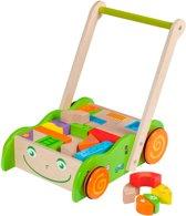 Jouéco Loopwagen met blokken