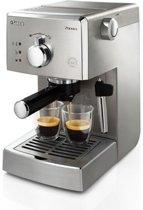 Saeco Poemia HD8427/11 - Handmatige espressomachine - Zilver