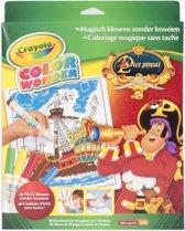 Crayola Color Wonder set Piet Piraat - Kleurboek incl. 5 Stiften