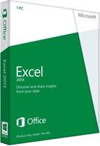Excel 2013 32-bit/x64 Dutch 1 License Medialess