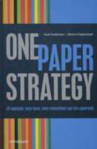 One paper strategie