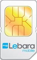 Lebara 5/5/5 simkaart met 50MB internetlandscape