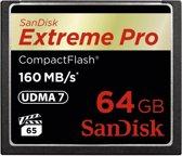 Sandisk Extreme PRO CompactFlash kaart 64 GB