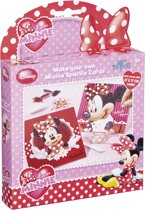 Disney I love Minnie Mouse Sparkle Cards - Glitterkaarten maken