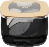 L'Oréal Paris Color Riche Quad - E5 Velours Noir - Zwart - Oogschaduw Palet