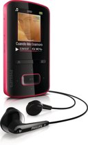 Philips GoGear Vibe MP4 speler - 4 GB - Roze
