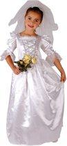 Superluxe Bruid - Kostuum - 7-9 jaar