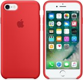 Apple iPhone 7 Silicone Hoes -  Rood