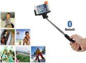 Selfie Stick met knop in het handvat voor uw Htc Desire 310, Bluetooth Afstandsbediening, zwart , merk i12Cover