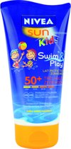 NIVEA Kids Swim And Play SPF 50+ - 150 ml - Zonnemelk