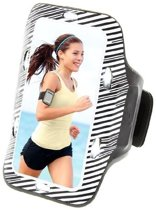 qMust Sport Armband Sony Xperia Z5 Compact met led-lampjes (White)