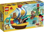 LEGO DUPLO Jake en de Nooitgedachtland Piraten Jake's Piratenschip Bucky - 10514