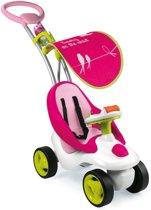 Smoby Bubble Go Ride-on met Zonnescherm - Roze