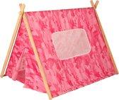 Kidkraft Camouflage Tent - roze