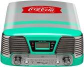 Coca-Cola -TD79-5 Platenspeler met USB  - Groen