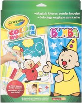 Crayola Color Wonder set Bumba - Kleurboek incl. 5 Stiften