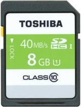 Toshiba CompactFlash Card - MEM SD Card UHS-1 8GB