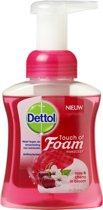 Dettol Touch of Foam Handzeep Rose & Cherry in Bloom - 250 ml - Handzeep