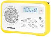 Sangean DPR-67- Radio met DAB+  - Wit/Geel