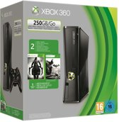 Microsoft Xbox 360 Slim 250GB + 1 Controller + 2 games + 1 Maand Xbox Live Gold