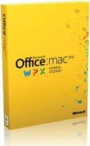 Microsoft Office Mac Home and Student 2011 - Engels / 1 Licentie / Medialess