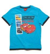 Disney Cars Jongens T-shirt - blauw - Maat 104