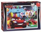 Puzzel Cars Neon 50 stukjes Assorti