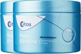 Etos Rozenglycerine - 2 x 250 ml - Bodycrème - Voordeelverpakking