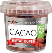 Lucovitaal Super Raw Food Cacao bonen - 150 gram - Superfood