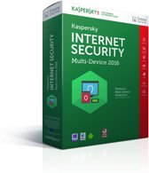 Kaspersky Internet Security - Multi-Device 2016 - Nederlands / Frans / 5 Apparaten / Doos