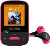 Sandisk Sansa Clip Sports - MP3-speler - 8 GB - Roze