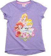 Disney Princess Meisjes T-shirt - lila - Maat 92