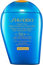 Shiseido Sun care Expert Sun Aging Protection lotion 50+ - 100 ml - Zonnebrand lotion