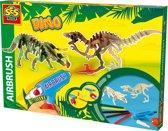 Ses Airbrush Dino