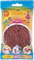 Strijkkralen Hama 1000 Stuks Bordeauxrood
