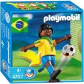 Playmobil Voetbalspeler Brazilië - 4707