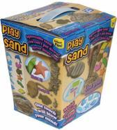 1 KiloGram Play Sand inclusief 6 vormpjes en 4 stuks gereedschap